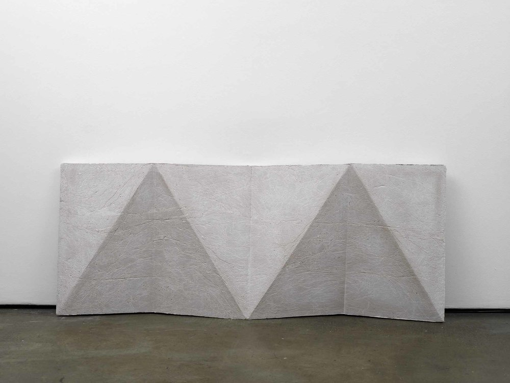 cope (working title)   2011   Concrete   78 x 198 x 14 cm / 30.7 x 78 x 5.5 in