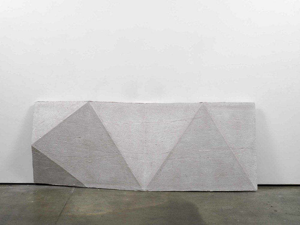 cope (working title) 2011 Concrete 77 x 200 x 13 cm / 30.3 x 78.7 x 5 in
