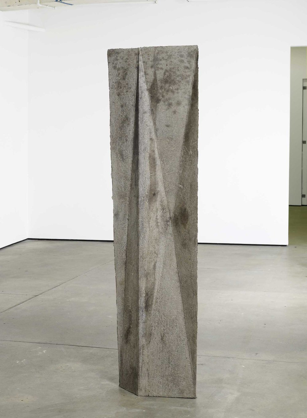 Michael Dean  you (working title) 2010 Concrete 200 x 52 x 20 cm / 78.7 x 20.5 x 7.9 In