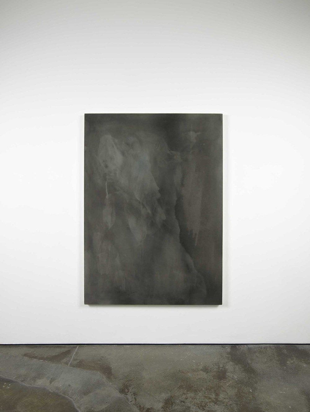 Padraig Timoney Broken two way mirror N°2 2009 Rabbit skin glue and pigment on canvas 115 x 163 cm / 45.2 x 64 In