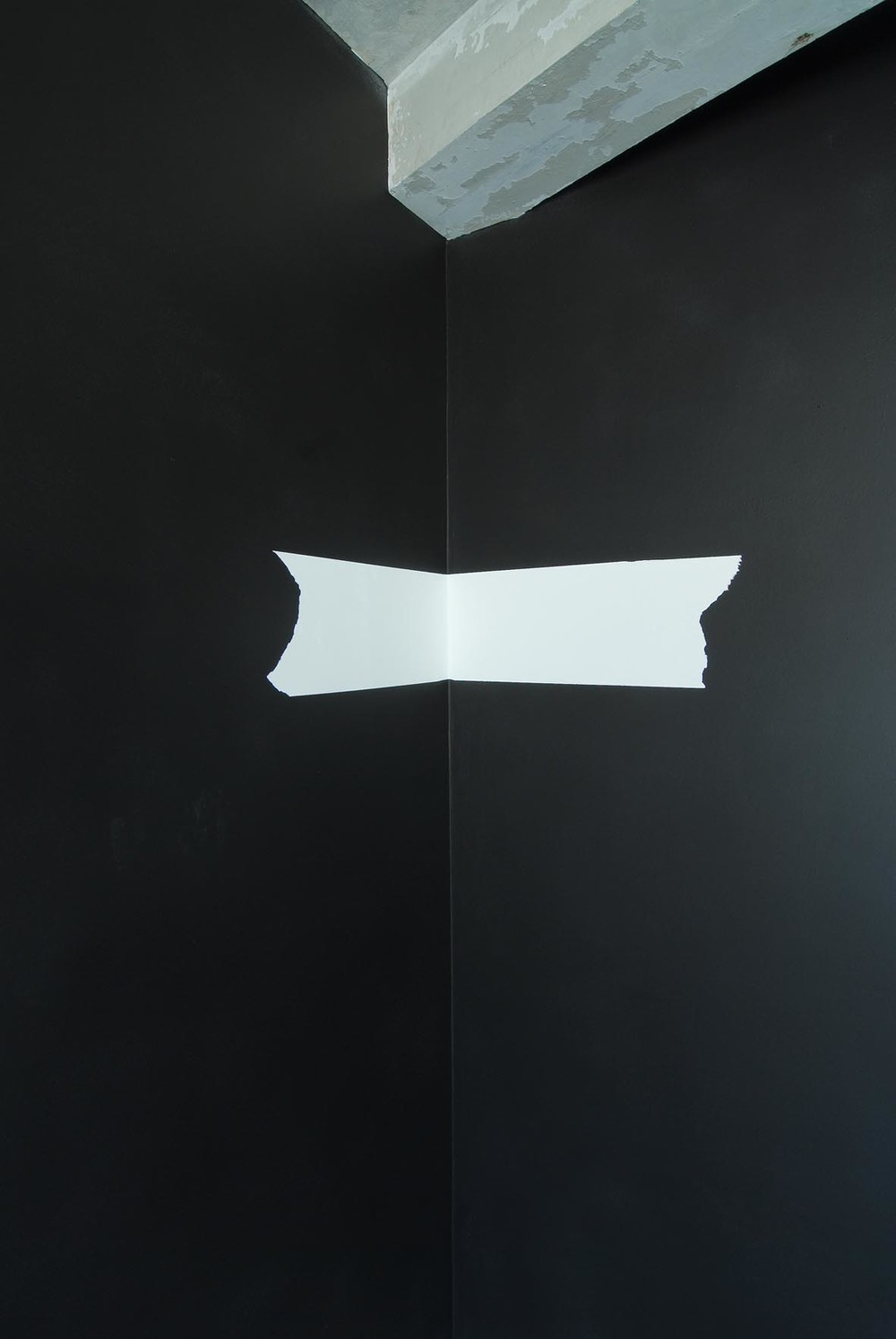 Untitled (detail)   2008   acrylic on wall   Dimensions Variable