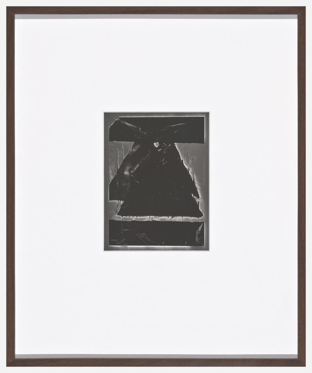 Anthony Pearson Untitled (Solarisation) 2007 unique framed silver gelatin photograph 43.2 x 35.6 cm