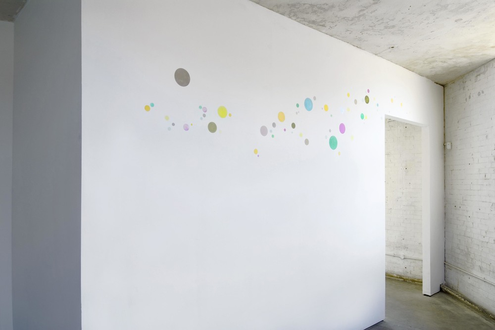 Jean-Michel Wicker   Bulles Experientielles   2007   Gouache on Wall:   Dimensions Variable