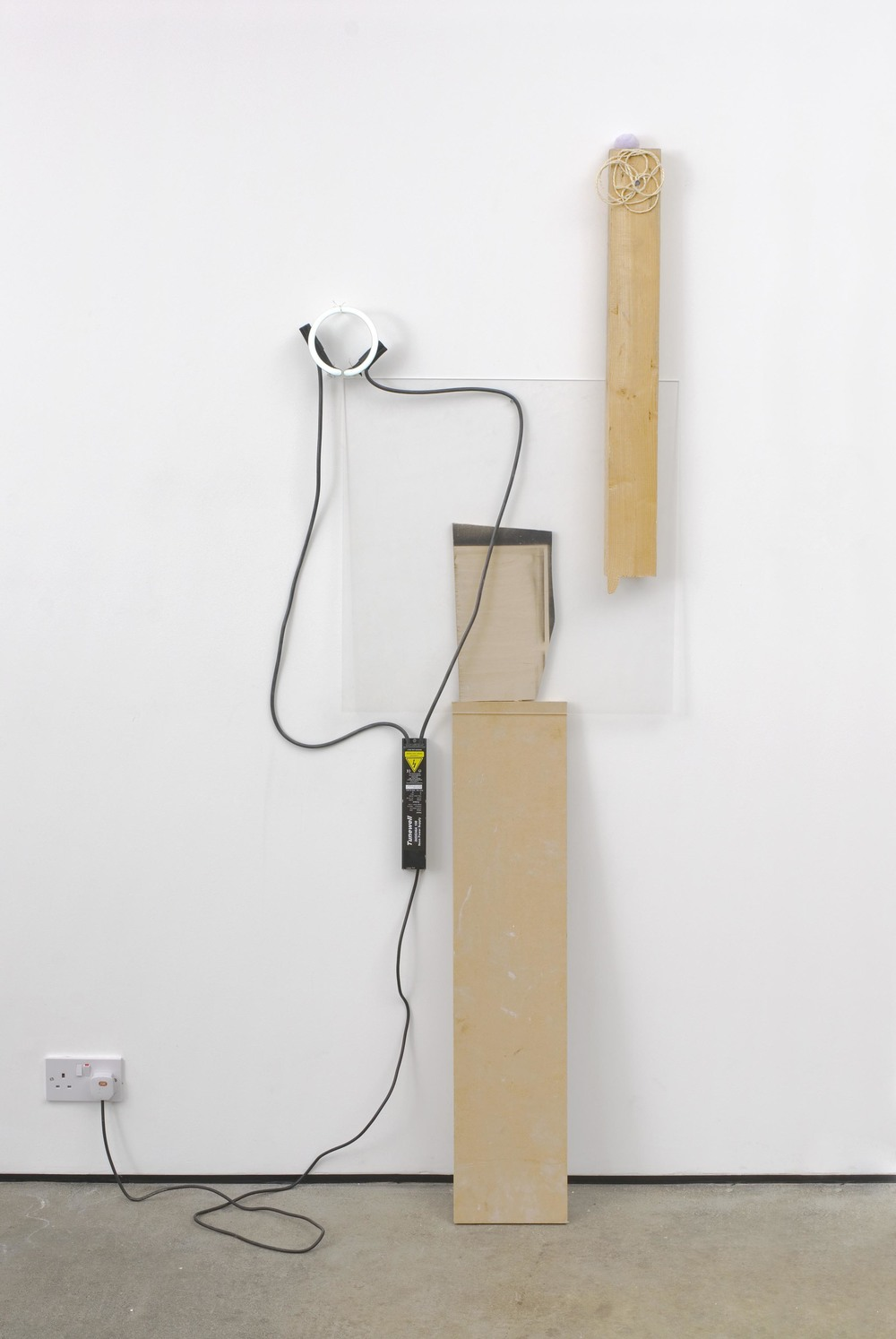 Rebecca Warren Husband Five 2005 Mixed Media with Neon and Transformer 170 x 100 x 10 cm