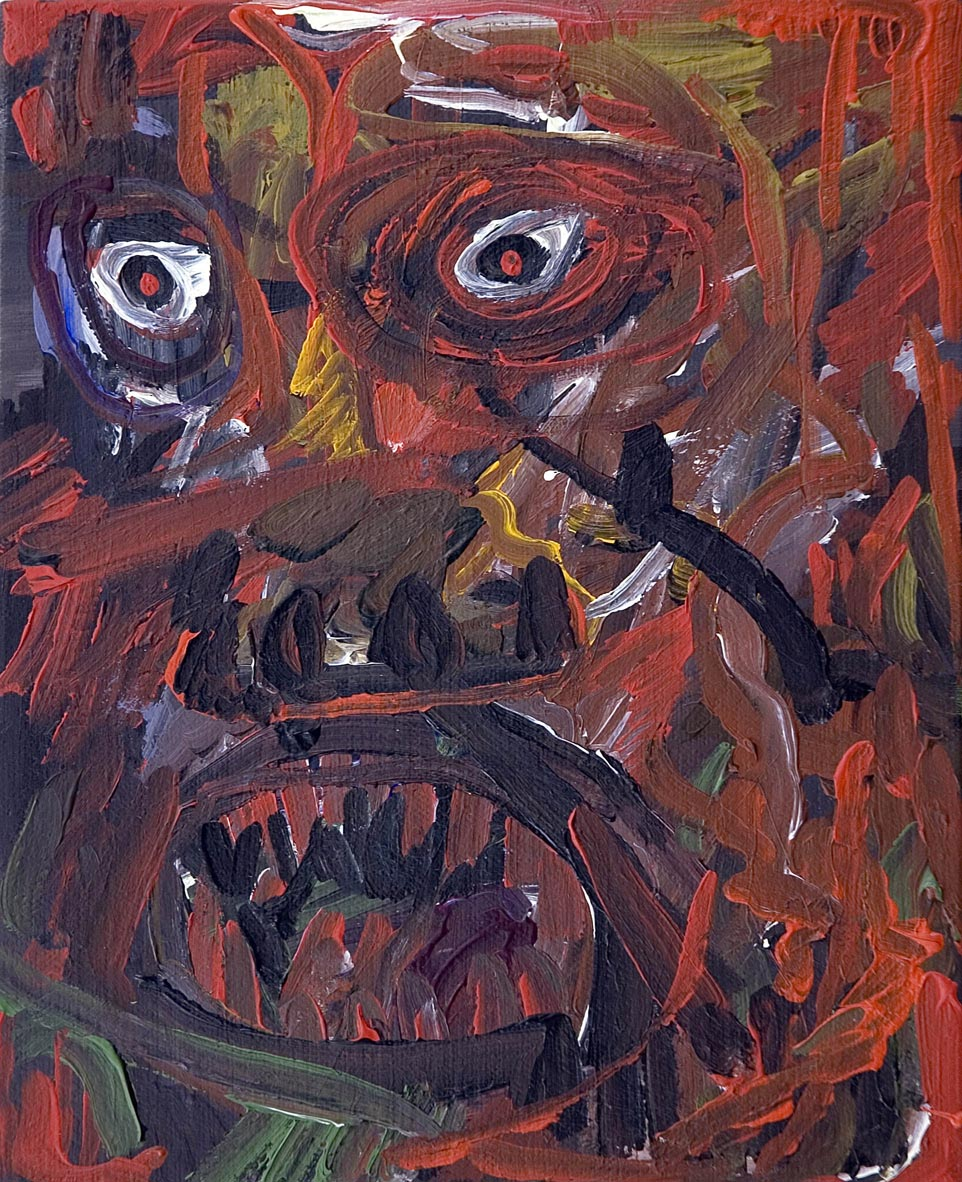 Expressionist Anger Management   2006   acrylic on canvas   20 x 25 cm