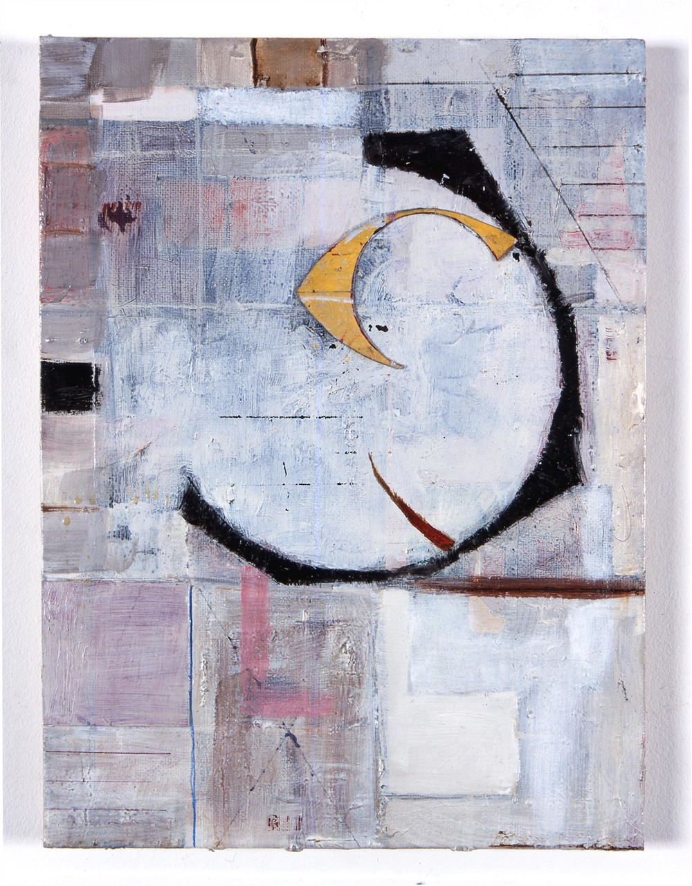 Untitled 2005 oil and paper on board 30.5x22.5cm