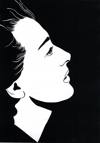 The Rapture of Joan Crawford 2010 Ink on paper 29.7 x 42 cm / 11.6 x 16.5 in