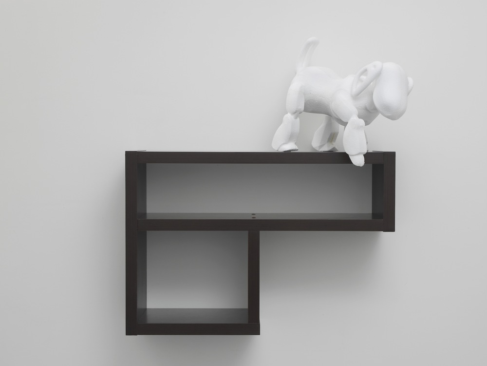 Standardised Form No.7 (beast)  2013  3D model in polystyrene on artificial wood support  approx 100 x 88 39 cm / 39.3 x 34.6 x 15.3 in