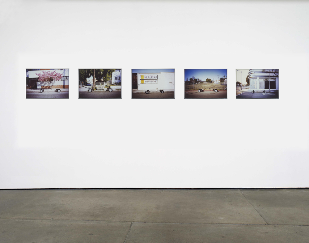 Nick Relph Thermosphere, Mesosphere, Troposphere, Stratosphere, Exosphere 2012 Cibachrome 5 parts, each: 34.5 x 50 cm