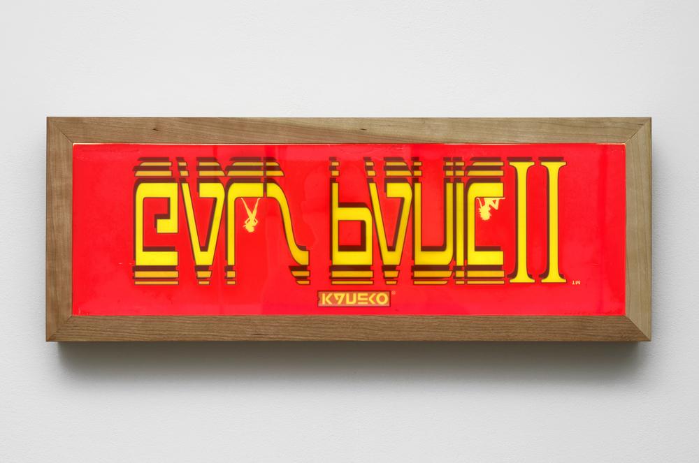 Untitled (Galls Panic II) 2013 Arcade marquee, lightbox 25.5 x 68.5 x 10 cm / 10 x 27 x 3.9 in