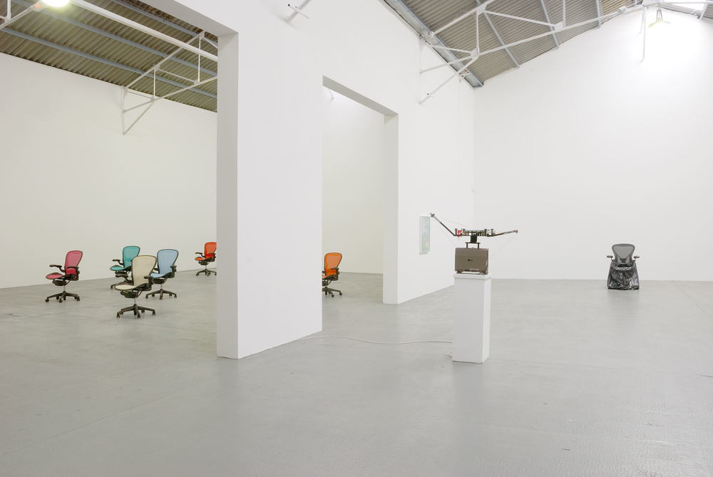 Installation view Le Comfort Moderne 2008
