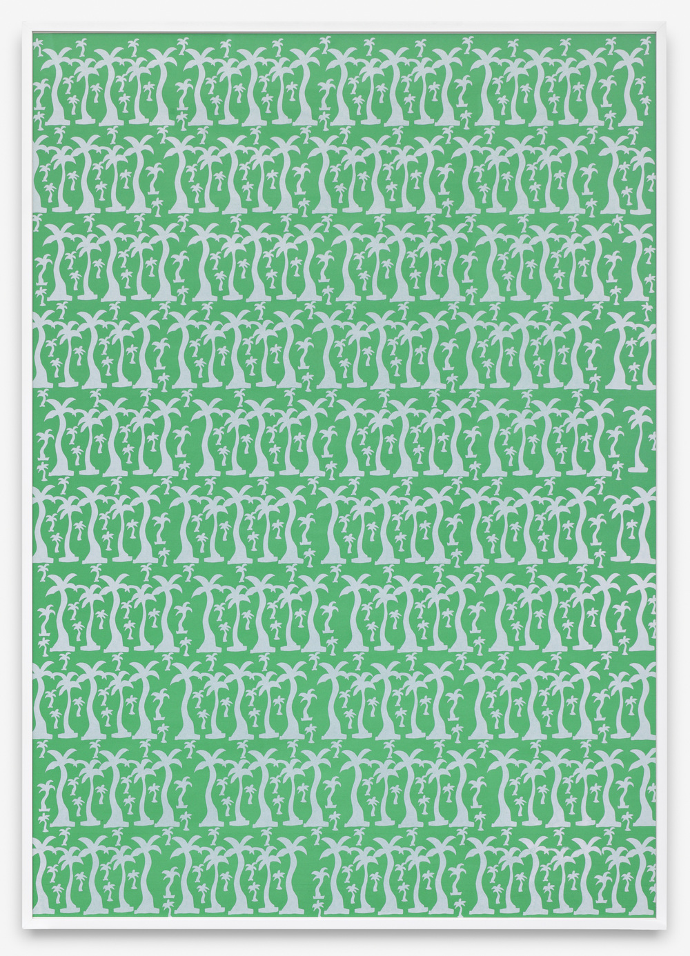 Friedrich Kuhn Untitled 1968/9 Screenprint 120 x 90 cm / 47.2 x 35.4 in, framed