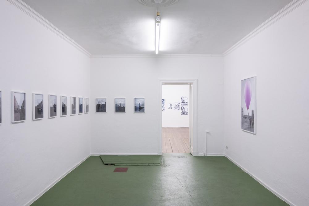 Totem Motif  Installation view  Between Bridges, Berlin, DE  2014