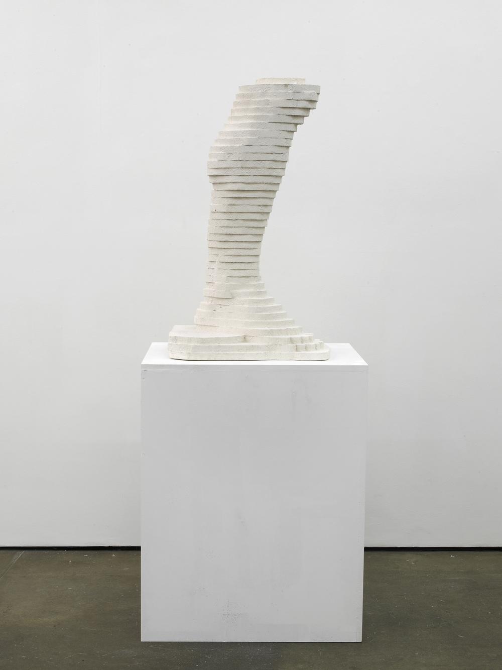 Hercules Foot 2014 Plaster 92 x 52 x 42 cm / 36.2 x 20.4 x 16.5 in