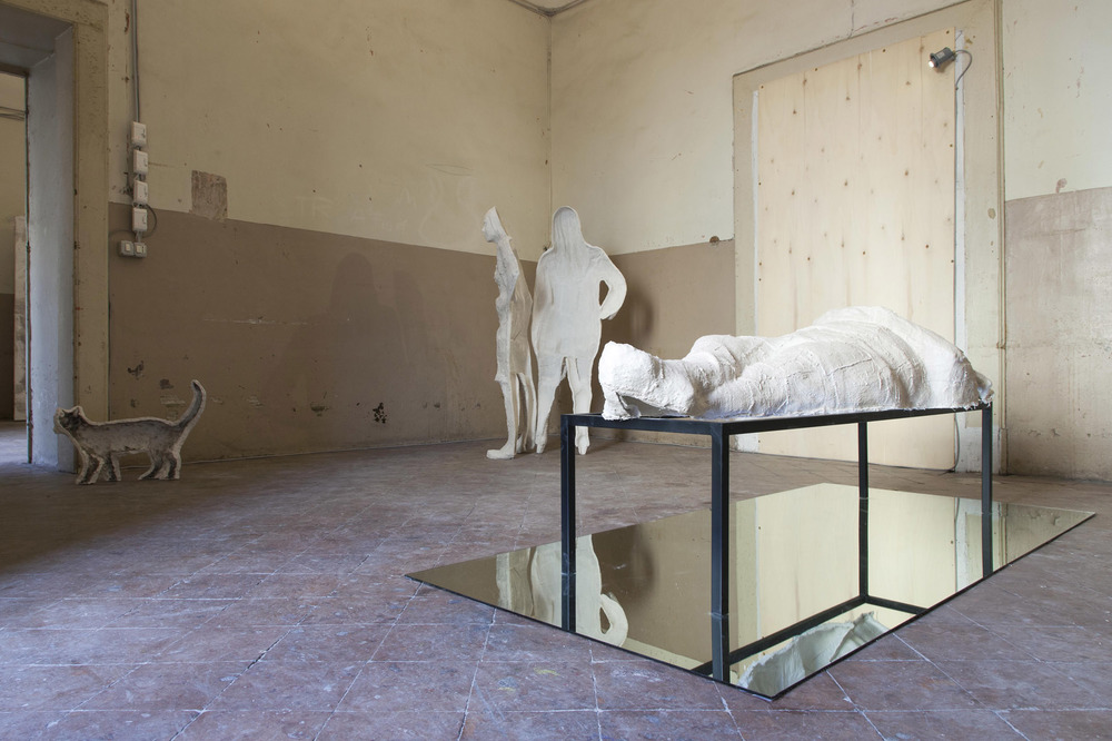 Installation View Fondazione Morra Greco, Naples, IT  2013