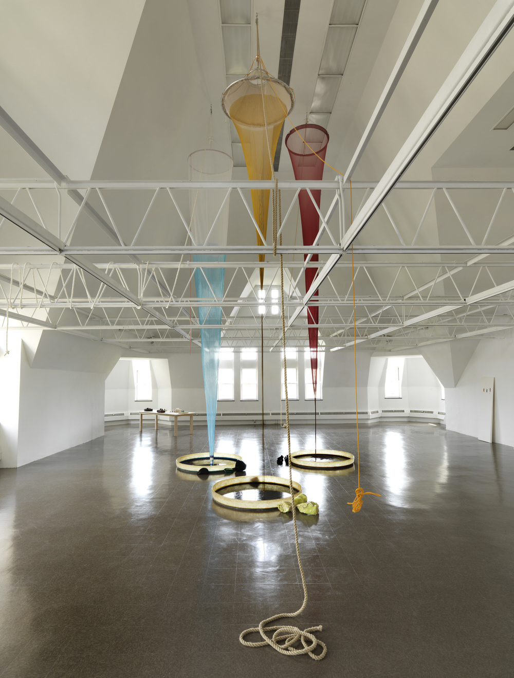 Colour Drop  Installation view  The Renaissance Society, Chicago,US  2014