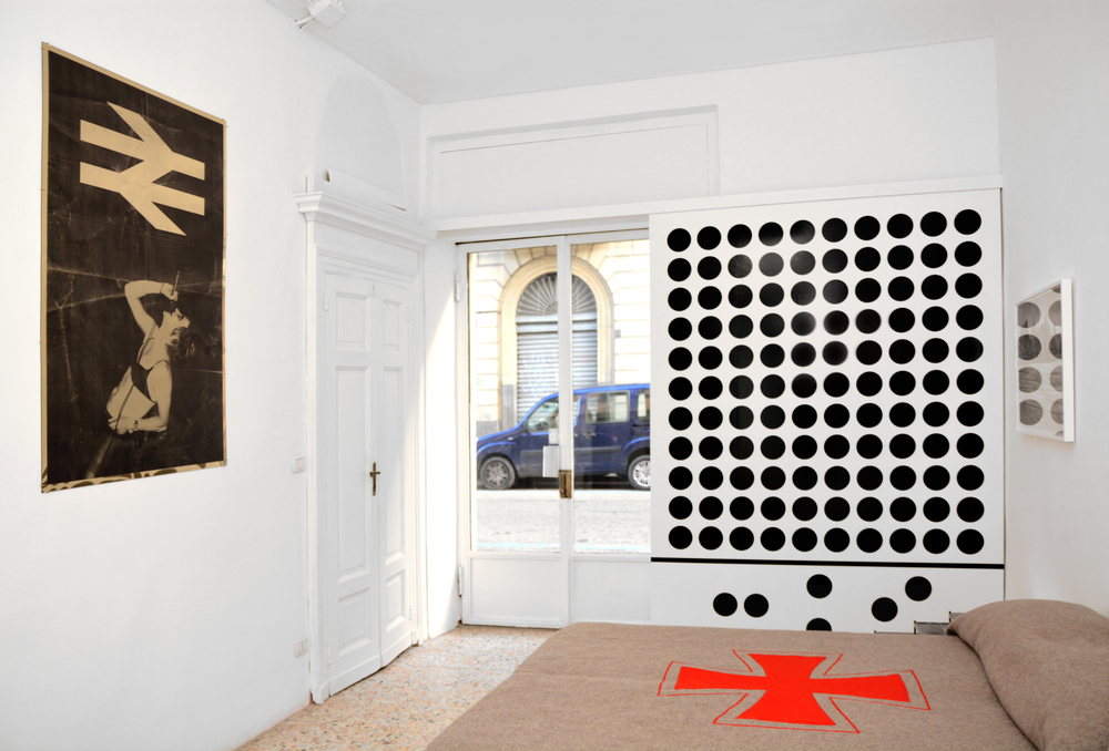 A Room For Nick  Installation View  Lira Hotel, Turin, IT  2013