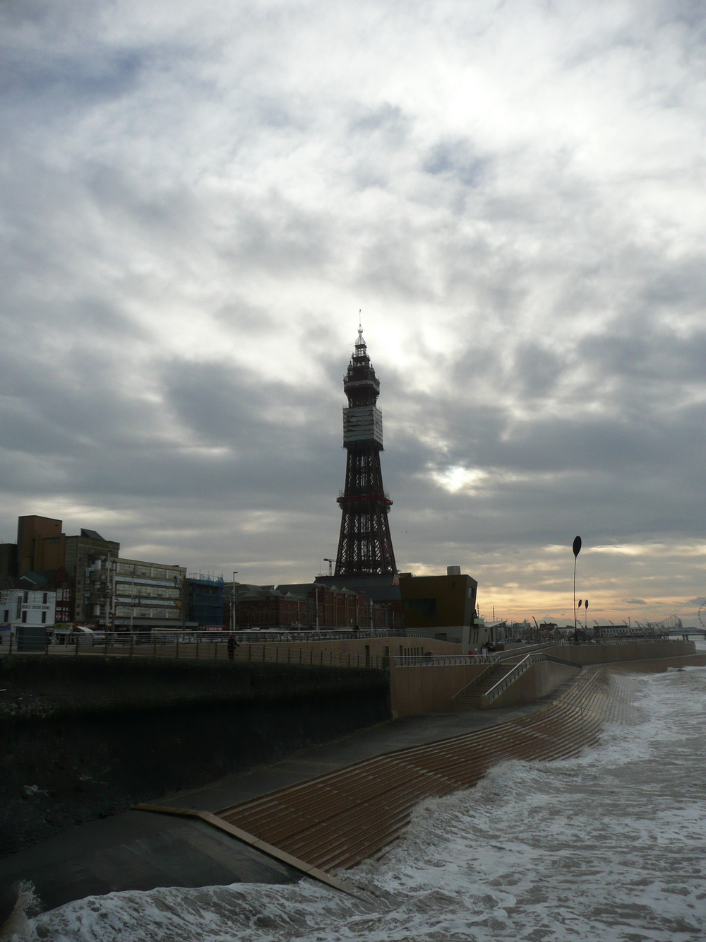 Study of Blackpool Tower 2014 Inkjet print on paper 14 parts, each: 40 x 30 cm / 15.7 x 11.8 in