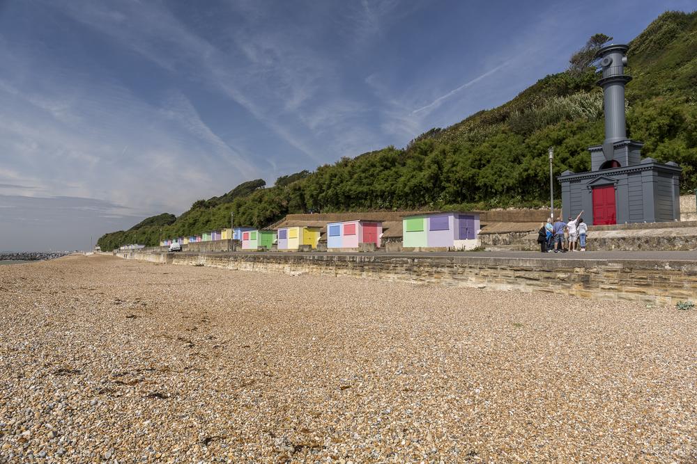 Beach Hut in the Style of Nicholas Hawksmoor  Folkstone Triennial  2014