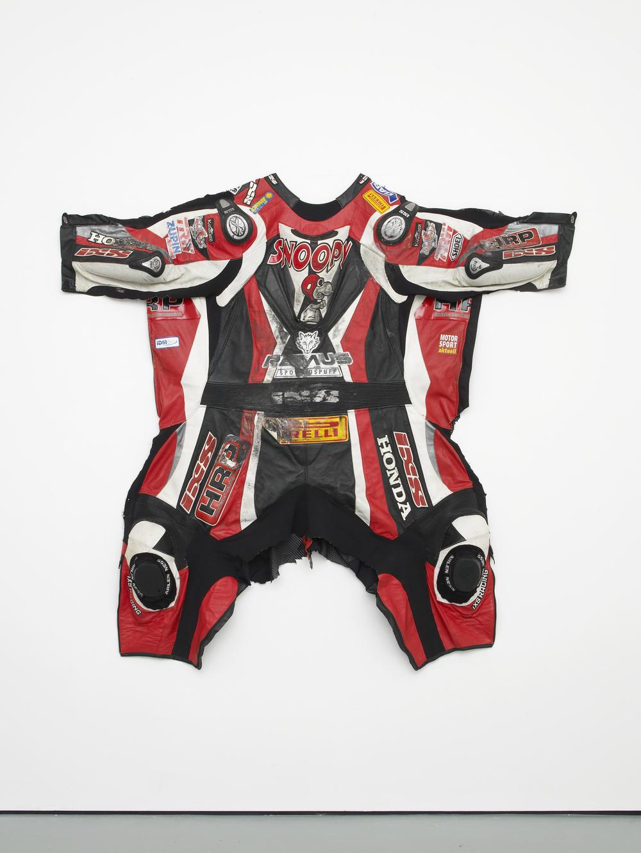 Snoopy 2014 Motorbike suit, nails 153 x 161 x 14 cm / 60.2 x 63.3 x 5.5 in