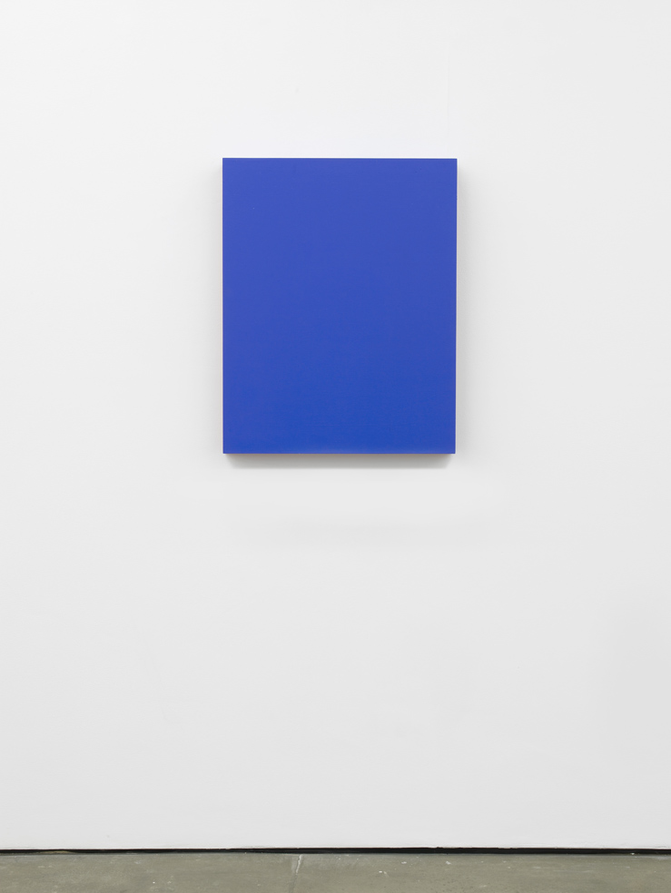 Matt Connors RGB Closed Bottom (for NR) 2015 Acrylic on plywood. 73.6 x 58.4 x 8.8 cm / 29 x 23 x 3.5 in