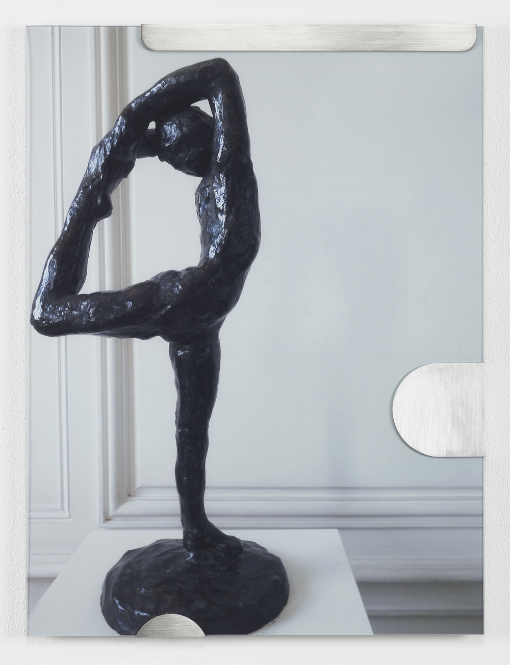 Buhuu Suite (Dancer straight) 2011 C-print, stainless steel clips, clip frame 40 x 30 x 1.5 cm / 15.7 x 11.8 x 0.6 in