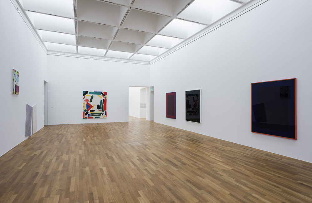 Installation view  New York Painting Kunstmuseum Bonn, Bonn, DE 2015