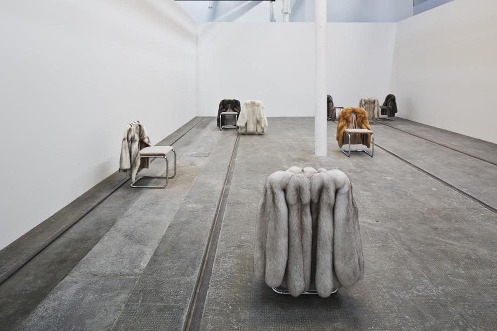 Installation view Turner Prize Tramway, Glasgow, UK 2015