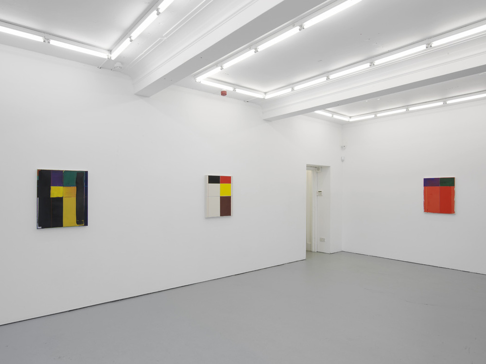 Matt Connors Not Straight  Installation View  Herald St - Golden Sq  2015