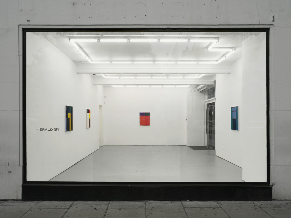 Installation view Herald St, London