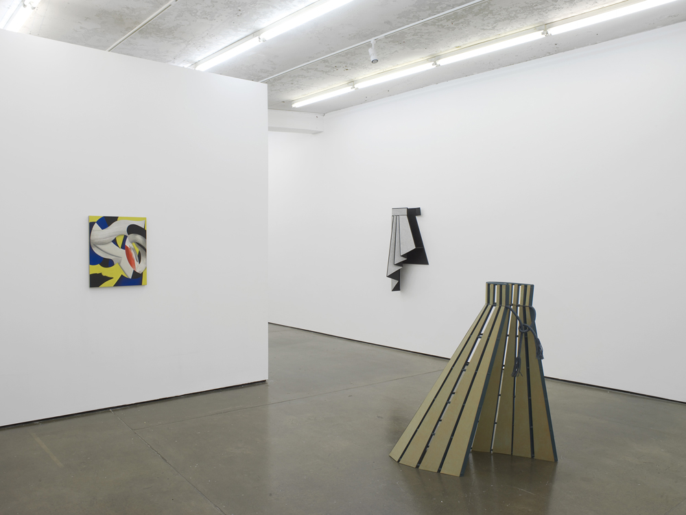 Diane Simpson | Lesley Vance  Installation View  Herald St  2015