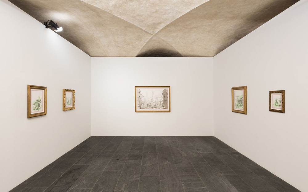 Installation view Museo Marino Marini, Florence, IT 2015