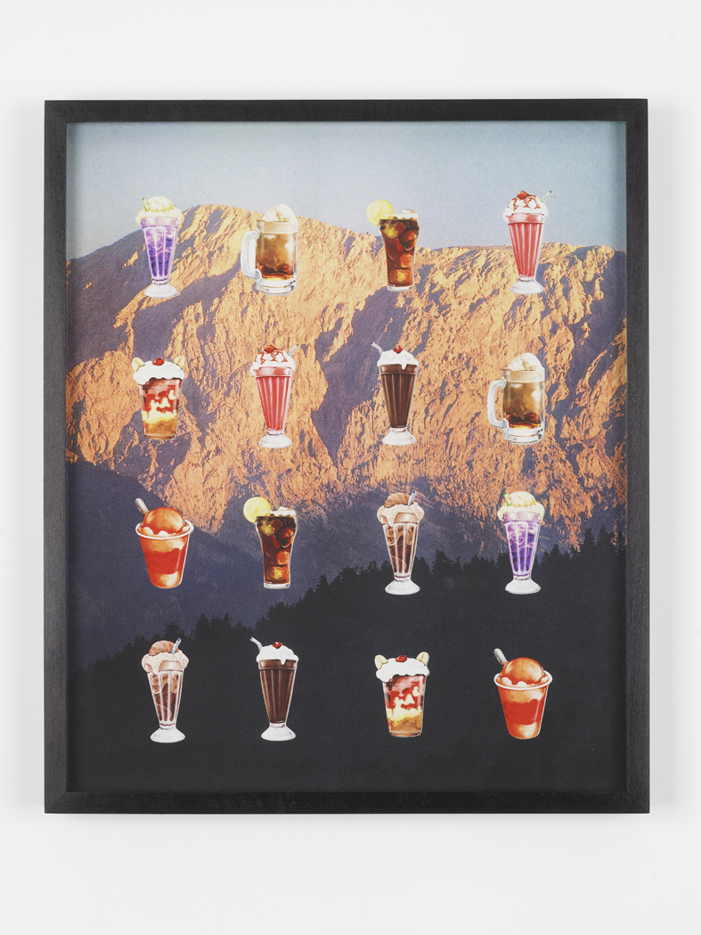 Candy Crush Collage 2015 Archival pigment print 43.2 x 36.8 cm / 17 x 14.5 in