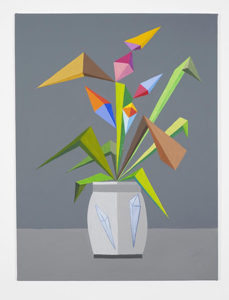 Buon mercato dei fiori 2016 Acrylics on canvas 101 x 76 cm / 39.7 x 29.9 in