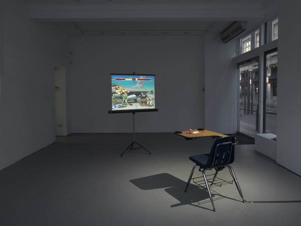 Oliver Payne Imagination Station (Procedural Rhetoric)   Installation View Herald St - Golden Sq 2015
