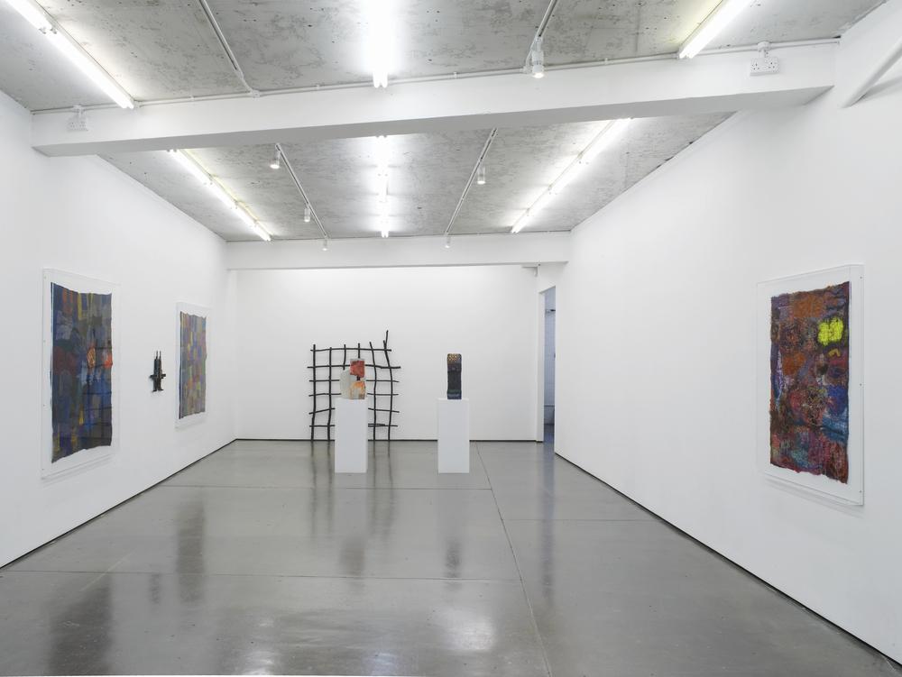 Alexandra Bircken Needle Installation View Herald St 2016