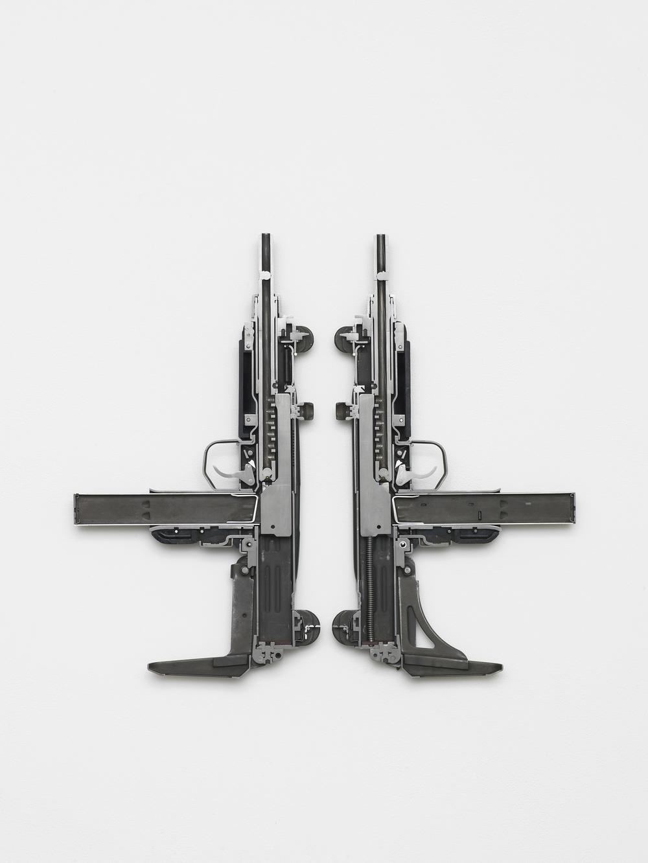 UZI 2016 Weapon 52 x 56 x 4 cm / 20.4 x 22 x 1.5 in