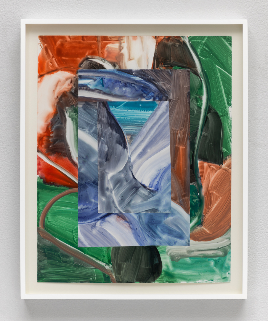 Untitled  2015 watercolor on paper 35.6 x 27.9 cm framed: 40 x 32.4 x 3.2 cm