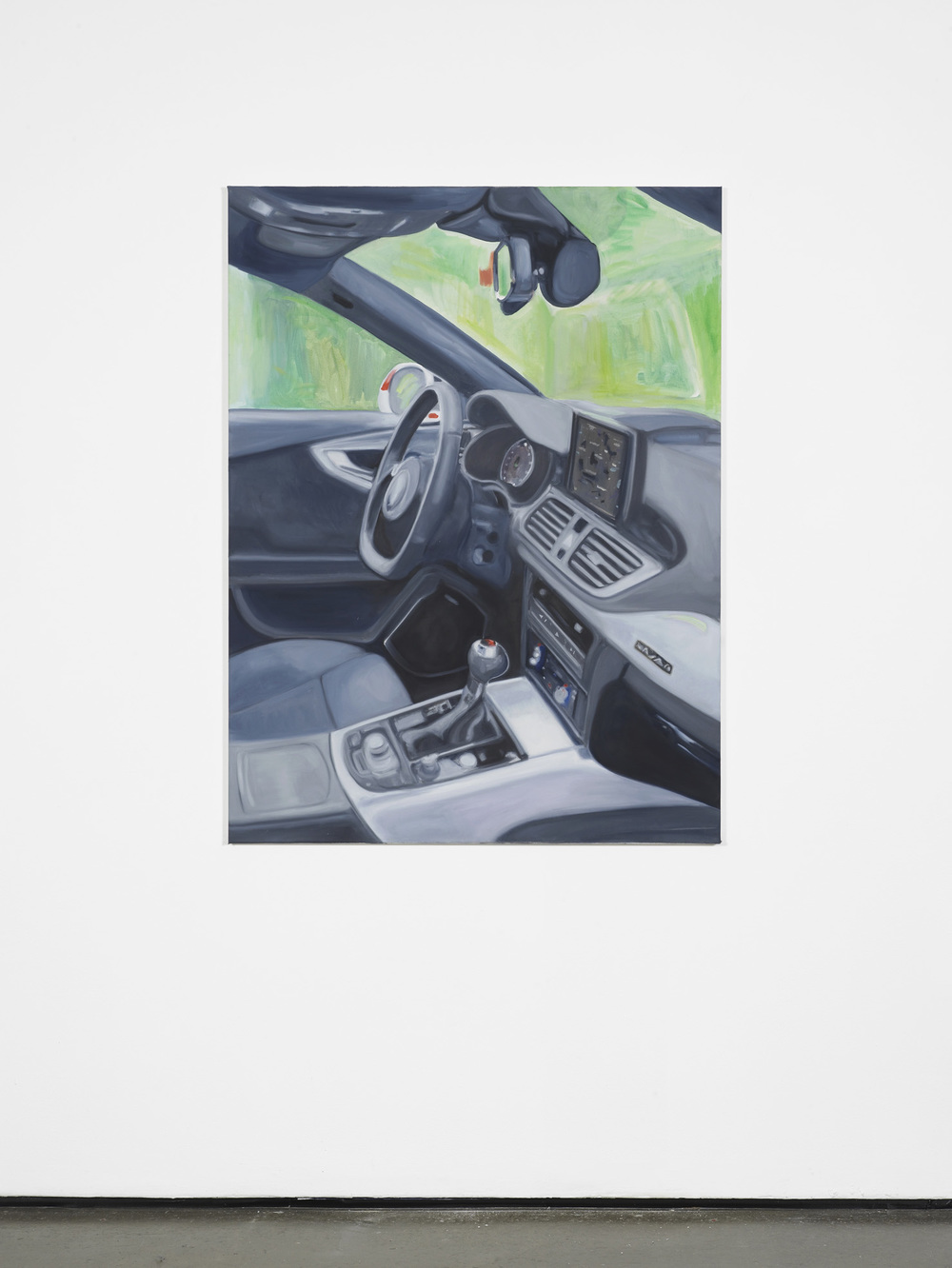 Jill Mulleady Beating the system II 2015 Oil on canvas 120 x 90 cm / 47.2 x 35.4 in HS12-JM5452P