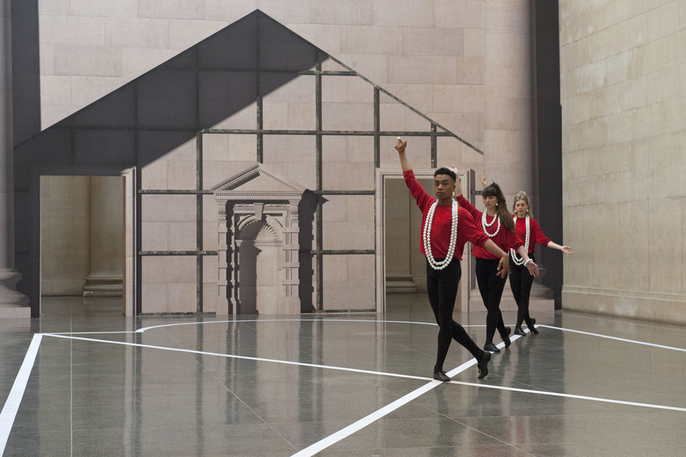 Historical Dances in an Antique Setting Installation View Tate Britain, London, UK 2016