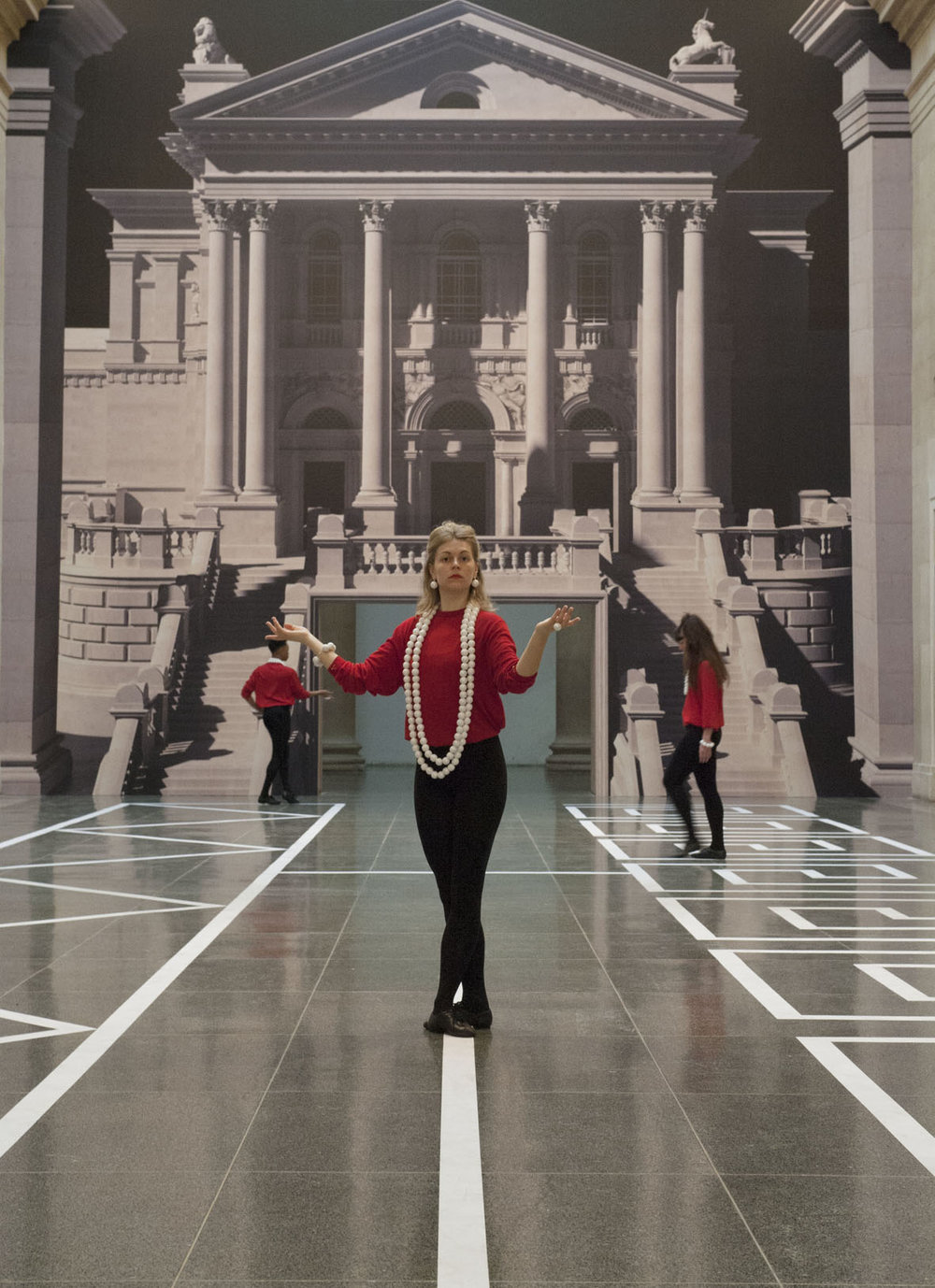 Historical Dances in an Antique setting Installation View Tate Britain 2016