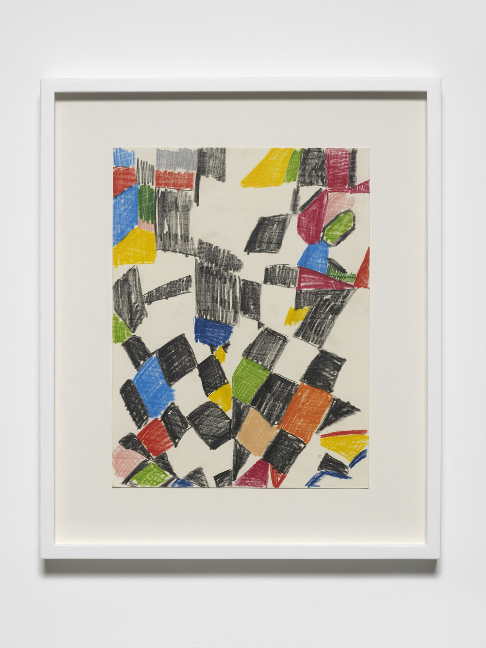 4020 Colour Study I 2015 Pencil on paper 30 x 23 cm / 11.8 x 9 in unframed 42.6 x 35.6 cm / 16.8 x 14 in framed