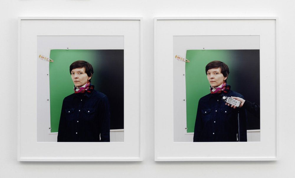 Anna #1 c-print, framed, 2 parts 2011 52 x 42 cm 4/5 + 2 AP