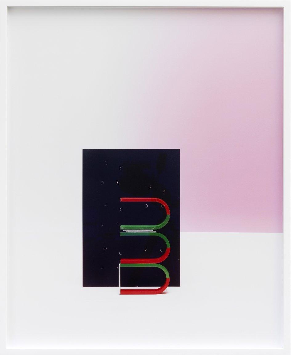 """""""Untitled"""" (Hufeisenmagnet 2) c-print, framed 2012 69.2 x 56.2 cm 2/5 + 2 AP"""