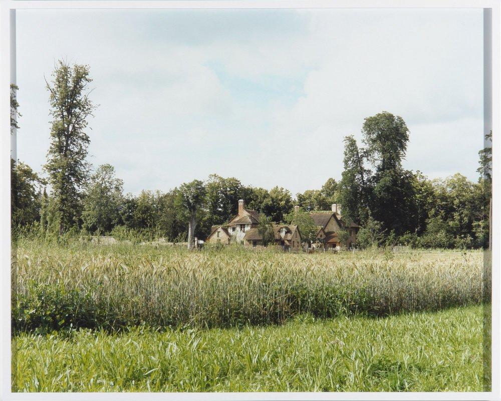 Untitled, Versailles Hameau c-print, framed 2007 80 x 100.5 cm 4/5 + 2 AP