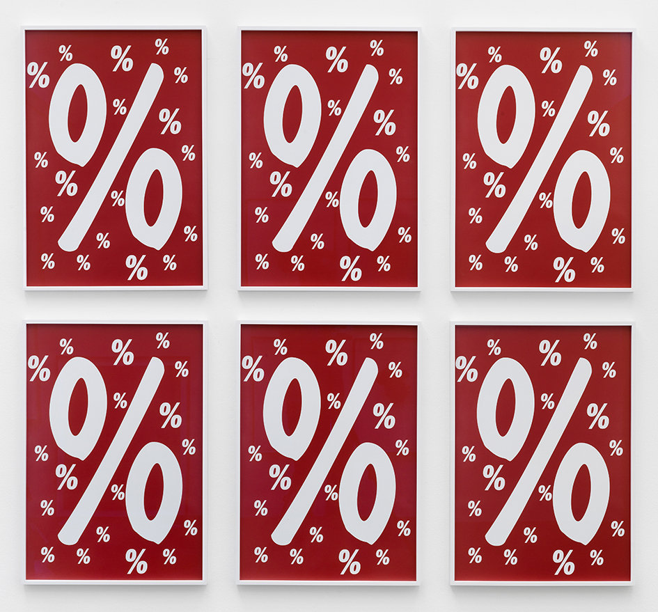Percent for Art C-Print, 6 Teile, gerahmt 2013 70 x 50 cm 3/5 + 2AP