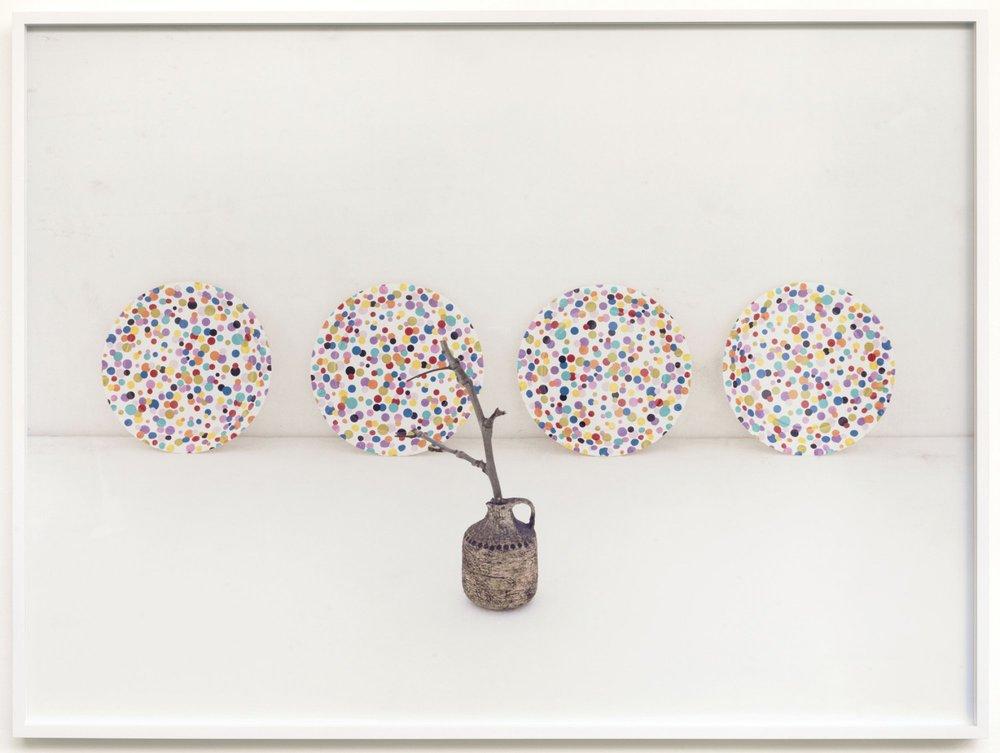 """Untitled"" (Plates) c-print, framed 2010 74 x 100 cm /5 + 2 AP"