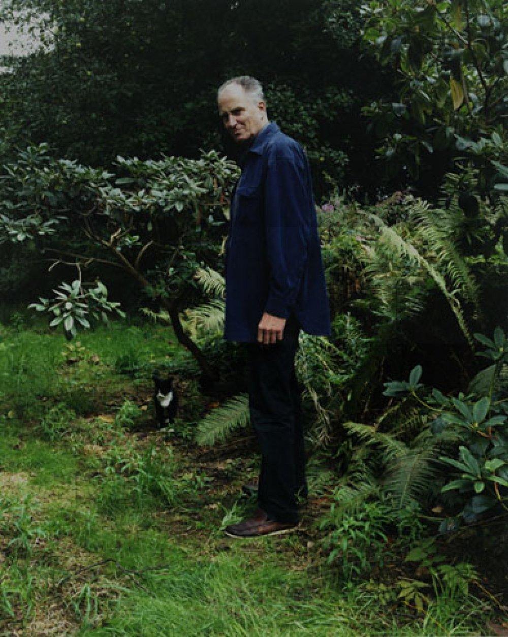 Hans Hansen in his Garden c-print 2008 49 x 60 cm 1/5 + 2 AP