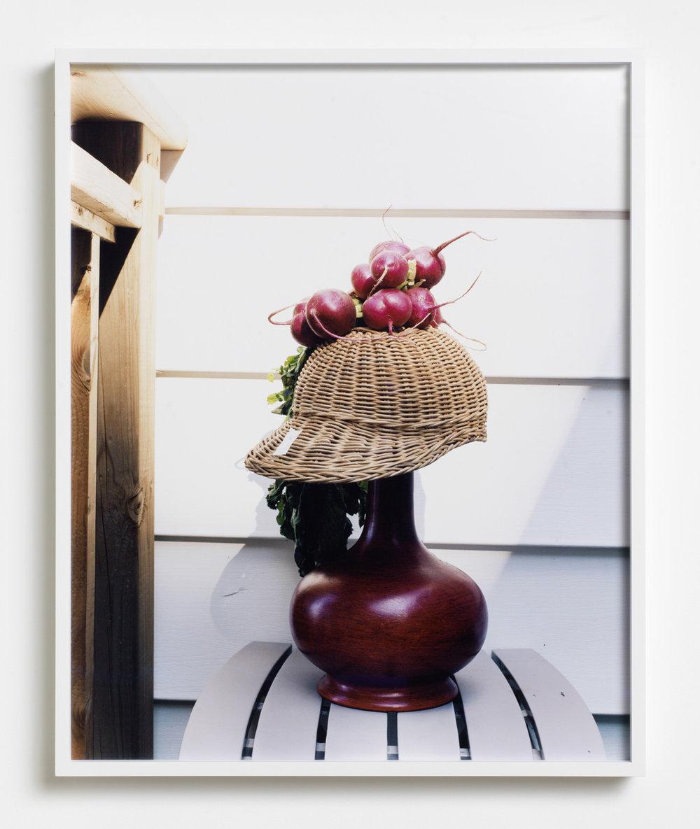 Radish 2016 Archival pigment print, framed 55.8 x 45 cm / 22 x 17.8 in
