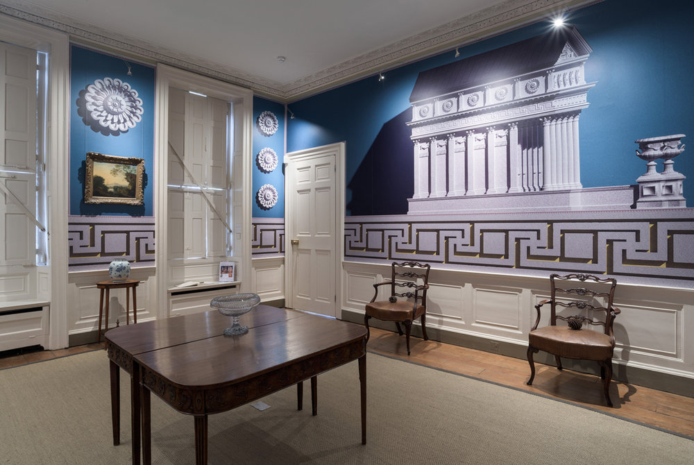 Wall Pomp Installation View Pallant House Gallery, Chichester, UK 2016